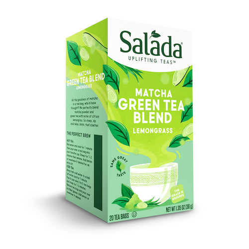 Salada Lemongrass Matcha Green Tea Blend - 20ct