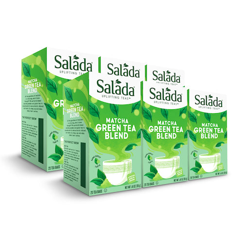 Salada Pure Green Matcha Tea Blend -  20ct