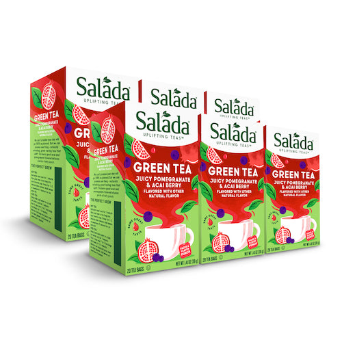 Salada Pomegranate Acai Green Tea - 20ct
