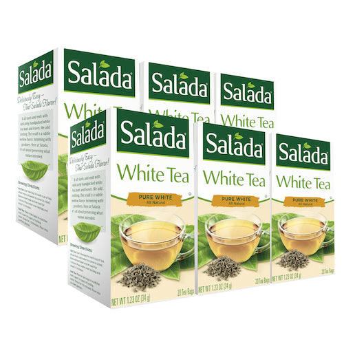 Salada Pure White Tea - 20ct