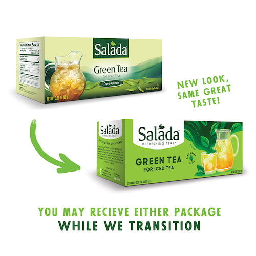 Family Size Salada Green Tea for Iced Tea - 24ct