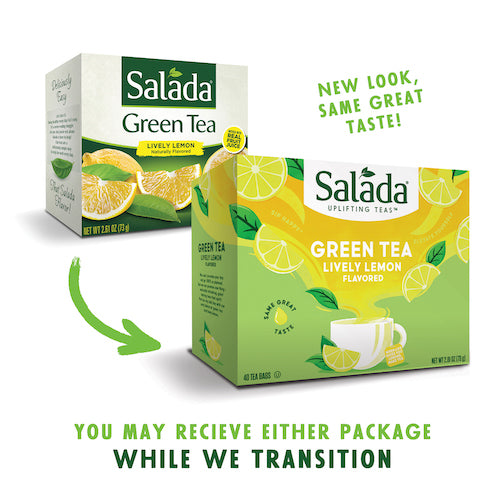Salada Lively Lemon Green Tea 40ct