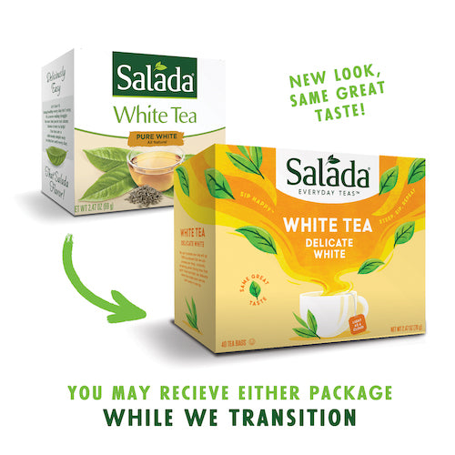Salada Pure White Tea - 40ct