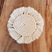 Load image into Gallery viewer, Macrame Coaster
