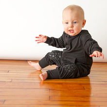 Load image into Gallery viewer, Go Little One Go - Black Romper