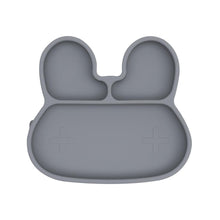Load image into Gallery viewer, We Might Be Tiny - Bunny Stickie Plate - Grey