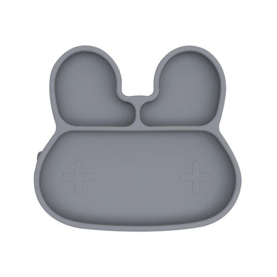 We Might Be Tiny - Bunny Stickie Plate - Grey
