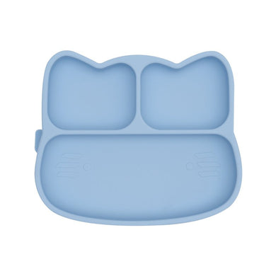 We Might Be Tiny - Cat Stickie Plate - Powder Blue
