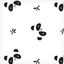 Load image into Gallery viewer, Lulujo - Swaddle Blanket Bamboo - Panda