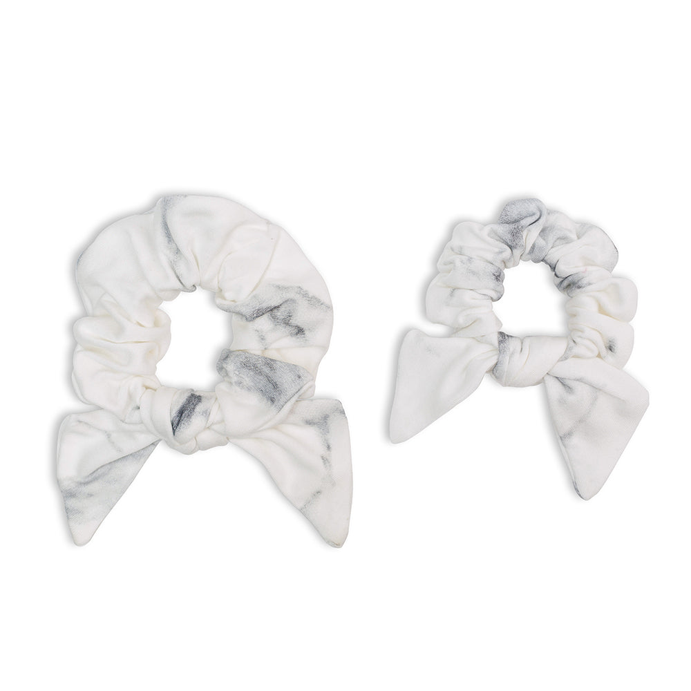 Lulujo - Mommy & Me Scrunchies - Marble