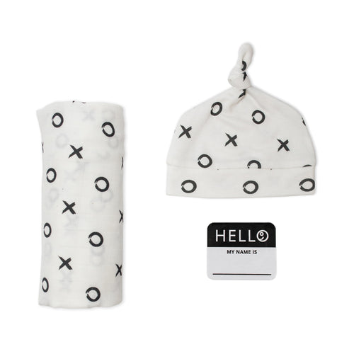 Lulujo - Couverture et Chapeau HELLO WORLD - XO
