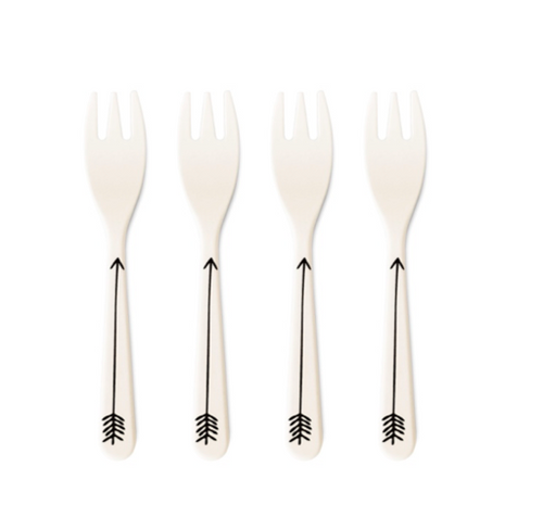 YoungLUX - Bamboo Fiber Forks (set of 4)
