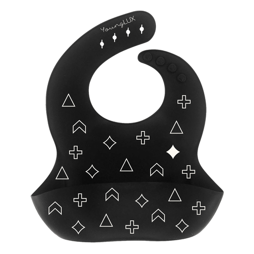YoungLUX - Silicone Baby Bib (4 Designs Available)