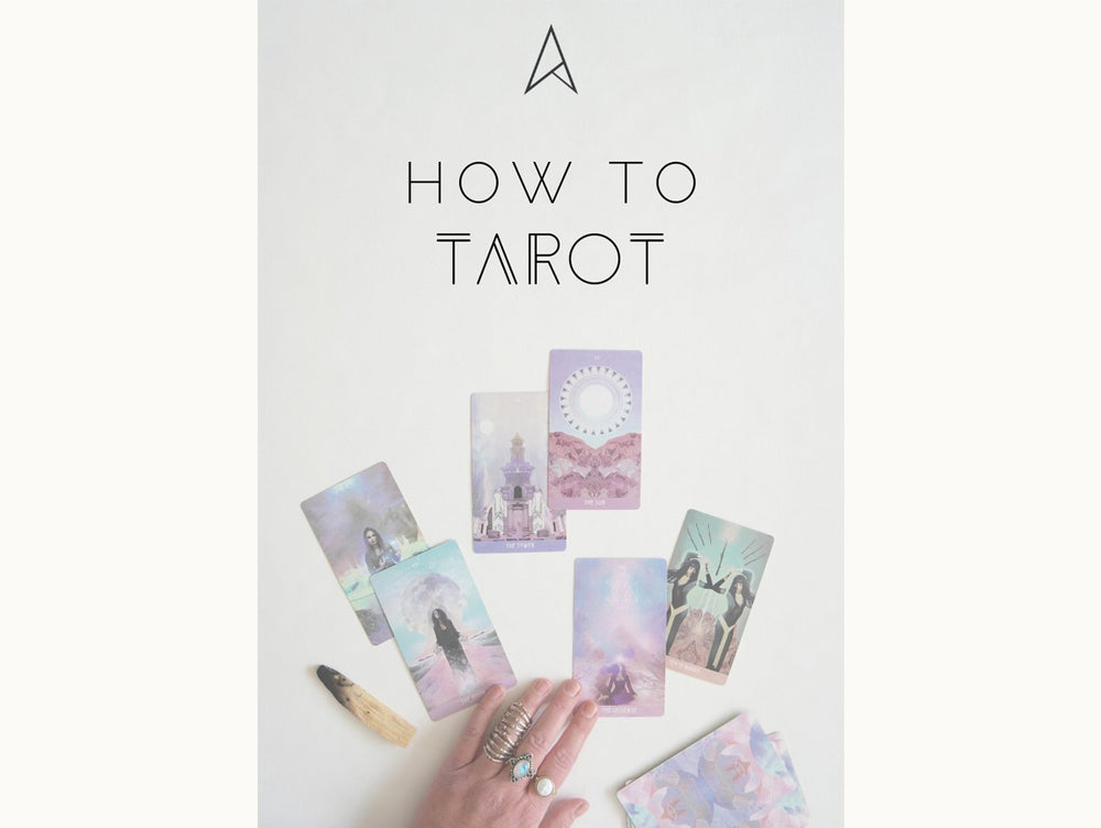How to tarot e-book