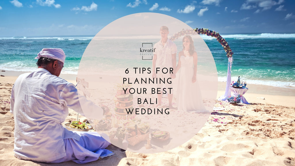 After Covid 19, here are 6 tips for planning your best Bali wedding