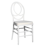 White Channel Chair