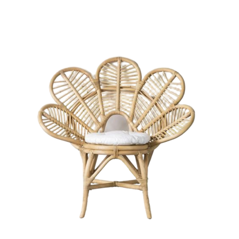 Peacock Leaf Chair - Natural