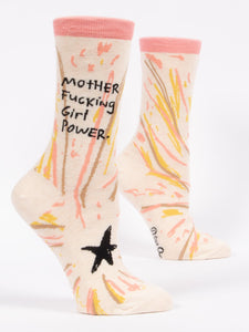 Mother Fucking Girl Power Women's Crew Socks