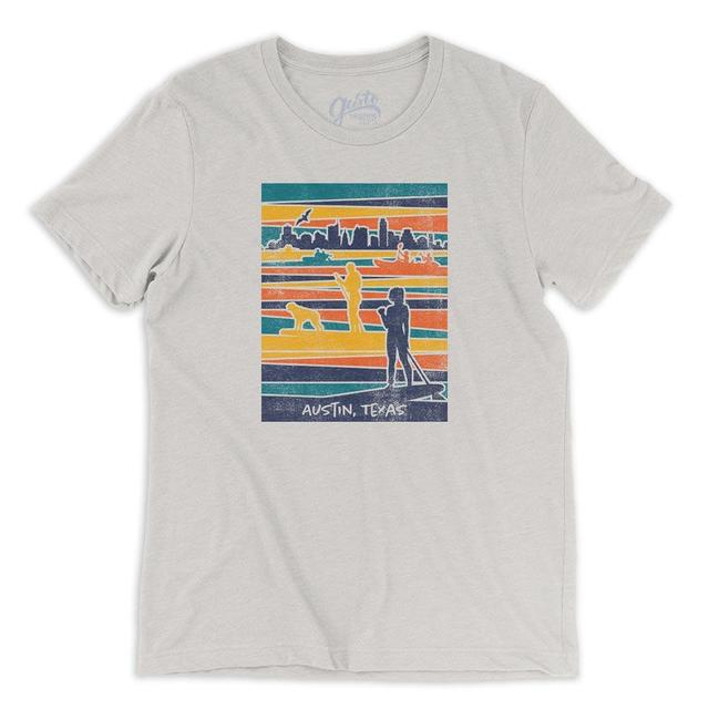Lady Bird Lake Austin T-shirt