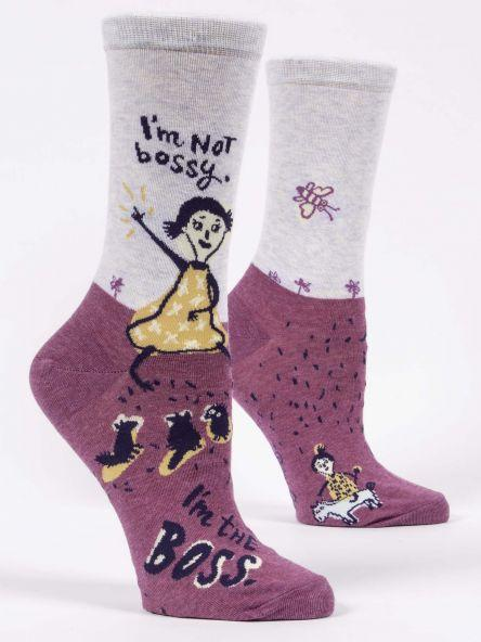 I'm Not Bossy Women's Crew Socks