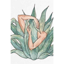 "Load image into Gallery viewer, Agave Love Print - 5"" x 7"""