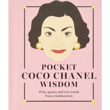 Load image into Gallery viewer, Pocket Wisdom Book - Coco Chanel