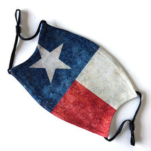 Load image into Gallery viewer, Texas Flag Face Mask