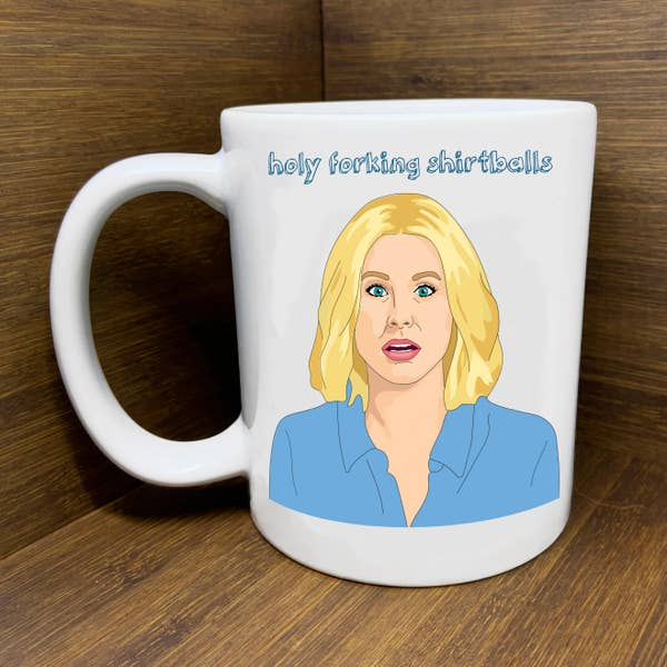The Good Place - Holy Shirtballs! Mug