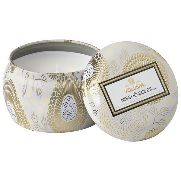 Nissho-Soleil Small Tin Candle
