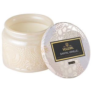 Santal Vanille Small Glass Jar Candle