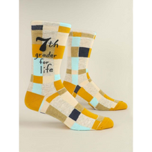 Load image into Gallery viewer, 7th Grader For Life Men's Crew Socks