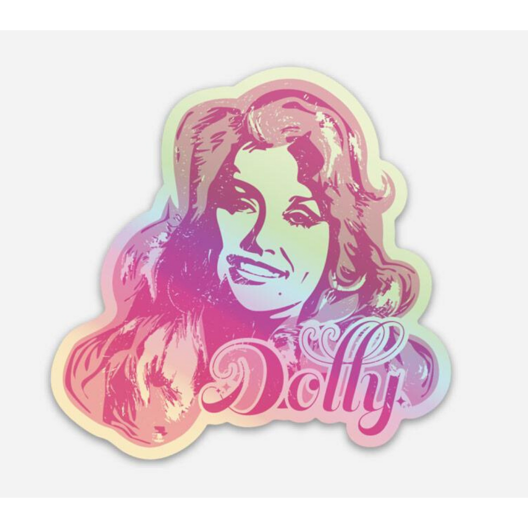 Dolly Hologram Sticker