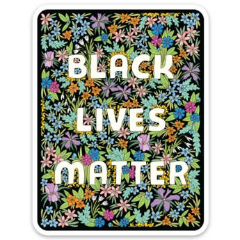 Black Lives Matter - BLM - Die Cut Sticker