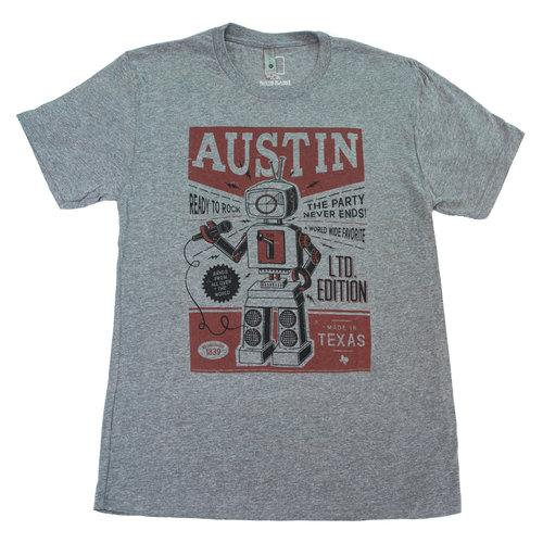 Austin Ready-to-Rock Robot Tee