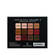 Load image into Gallery viewer, Warm Neutral Vo. 2 Eyeshadow Palette