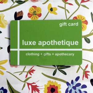 Luxe Apothetique Gift Card