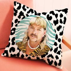 Joe Exotic Illuminidol Throw Pillow