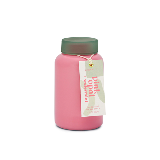 Paddywax Lolli Candle - Pink Opal + Watermint