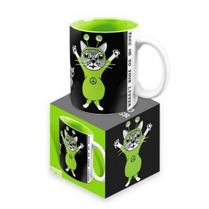 """Take Me to Your Litter"" - Freaker Mug"