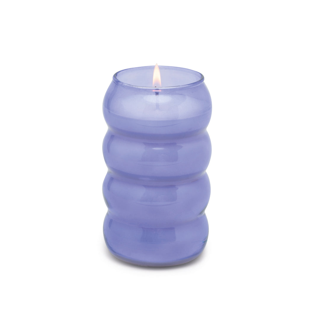 Realm Bubble Glass Candle - Wisteria