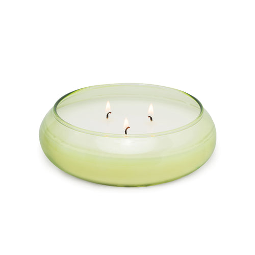 Realm Glass Bowl Candle - Bamboo