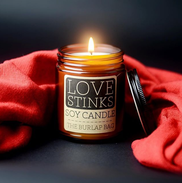 Love Stinks Candle