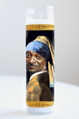 Snoop with a Hoop Illuminidol Candle