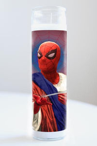 Spiderman Illuminidol Candle