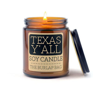 Texas Y'all Candle