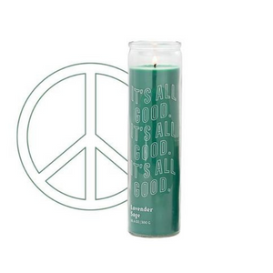 Spark Candle - It's All Good Prayer Candle - Lavender Sage
