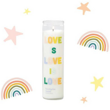 Load image into Gallery viewer, Spark Candle - Love is Love Prayer Candle - Eucalyptus Santal