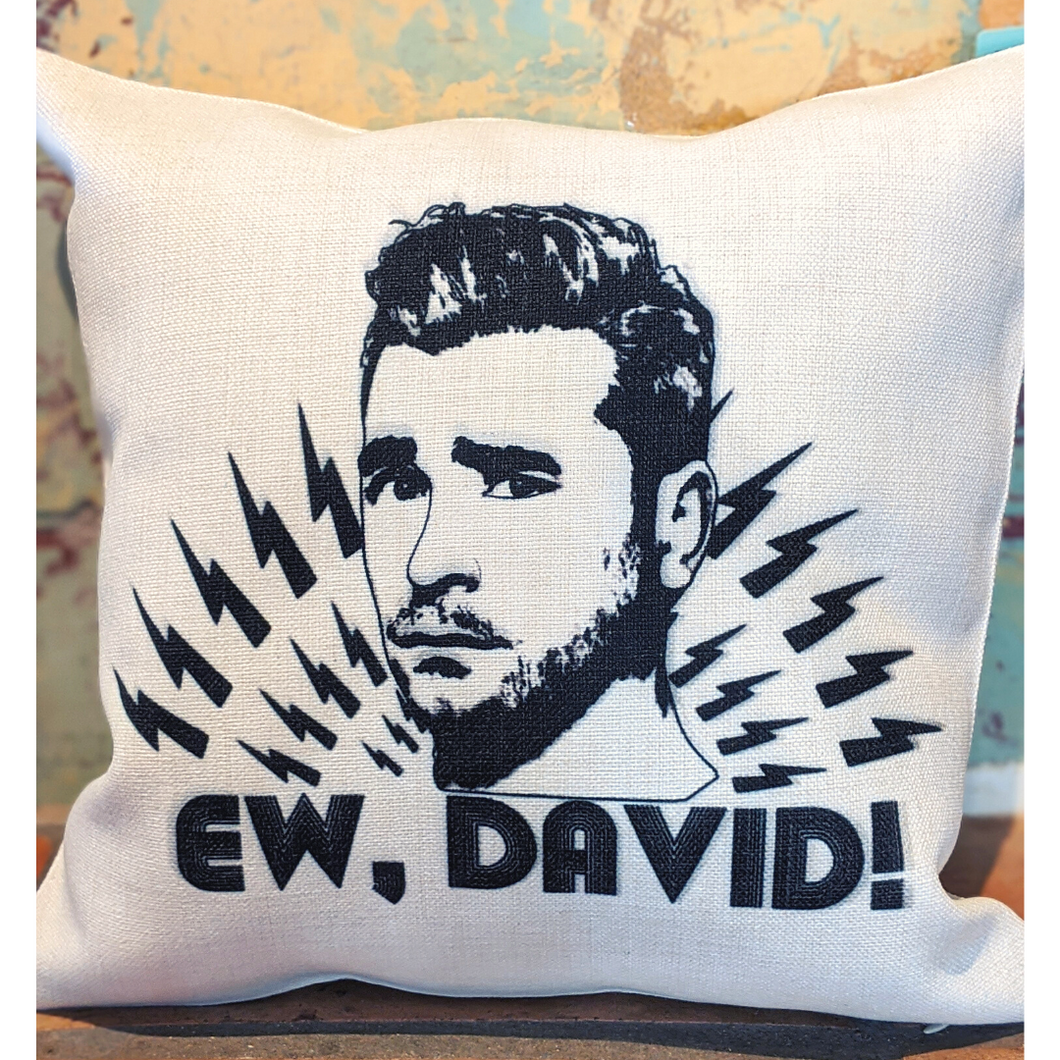 Ew, David (Schitt's Creek) Illuminidol Throw Pillow