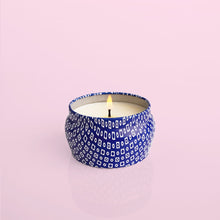 Load image into Gallery viewer, Volcano Blue Mini Tin Candle