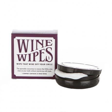 Wine Wipes - Blue Elephant   - 1